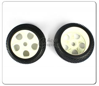 HSP 85746 Rim Tires Wheels Complete for 1 8 Scale RC Car