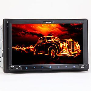 "D2223 7"" Car DVD Player HD Touchscreen 2Din Stereo Double DIN  USB SD CD K3"