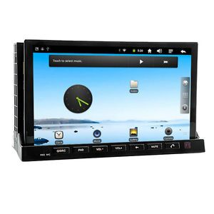 Android in Dash Car DVD Player 3G WiFi GPS Digital DVB T TV Detachable Panel