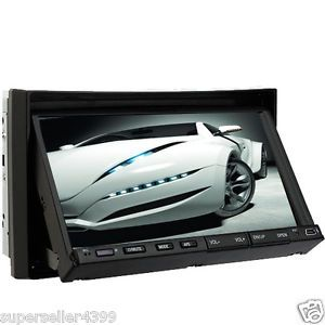 "7""HD Digital Touch Screen Stereo Car DVD Player 2Din TV"