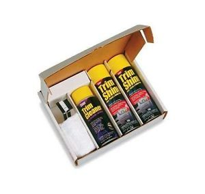New Stoner Complete Car Care Kit Detailing Show Wax System Chevrolet Ford Toyota