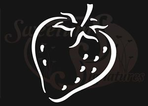 Strawberry Car Truck Vehicle Window Decals Stickers