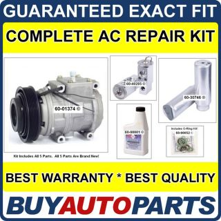 Toyota Camry 3 0 AC Repair Kit New Compressor 1994 2001