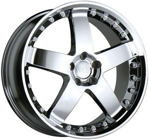 "17"" Chrome Wheels Rims Audi TT Coupe VW Jetta Golf GTI Beetle 5x100"