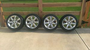 "Cadillac ATS 17"" Polished Alloy Wheels and Michelin Tires New Dealer Take Offs"