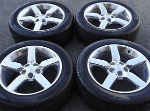 "19"" Camaro SS Polished Wheels Rims Tires Factory Stock Wheels Rims 5442"