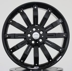 "22"" Wheels Tires Packages Fit Range Rover Discovery LR3 HSE Sport Supercharged"