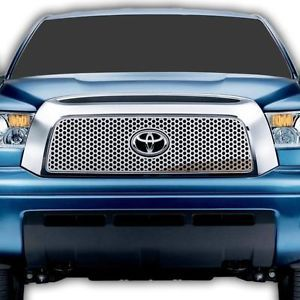 Toyota Tundra 07 09 Circle Front Grille Polished Stainless Billet Truck Parts
