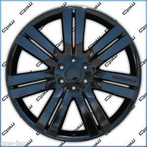 "24"" Cadillac Escalade Glossy Black Wheels GMC Chevrolet Rims"