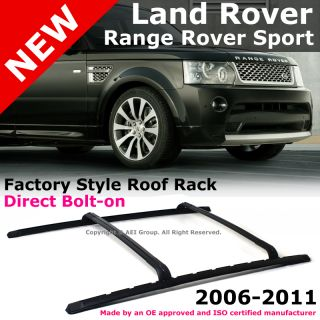 Land Rover Range Rover Sport 06 11 Factory Style Black Roof Rack Rails
