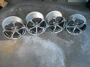 GM Corvette C6 Italian Speedlines Chrome Grand Sport Wheels Rims 2006 2013