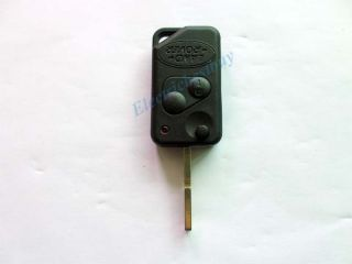 Range Rover Land Rover P38 Discovery Folding Remote Key Shell Case 2 Button