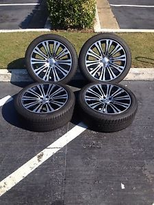 2013 Chrysler 300 300C Genuine Factory OE Wheels Rims Tires 20 Inch