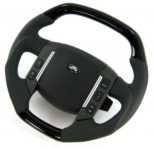 Flat Top Steering Wheel Black Piano Range Rover Sport