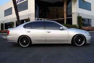 "19"" Lexus GS300 GS400 GS430 MRR GT1 Black Rims Wheels"