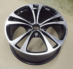 "Aston Martin V12 Vantage ""Black Diamond Turned"" Front Wheel Rim AD23 1007 Ea"