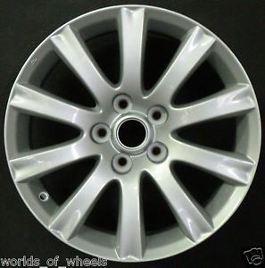 "2010 2011 2012 Mazda CX7 17"" 10 Spoke Factory Alloy Wheel Rim H 64931"