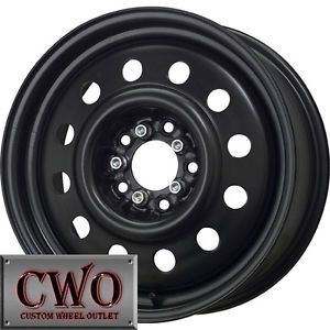 15 Black Unique 83 Wheels Rims 5x108 5x114 3 5 Lug Ford Jaguar Nissan Lincoln