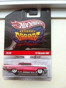 Hot Wheels Larry's Garage '57 Chrysler 300 Red 25 39 New