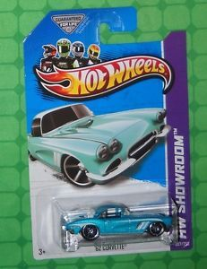 2013 Hot Wheels Showroom 207 Corvette 60th '62 Corvette