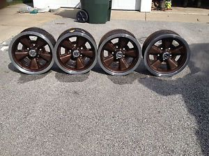 Set of 4 15x7 Rally Wheels from 1979 Camaro Z 28