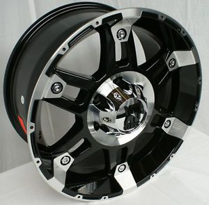 "20"" KMC XD Spy Black Wheels Rims 5x5 5 5 Lug Dodge RAM 1500 Truck 5x139 7"