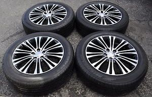 "19"" Chrysler 300 Black Wheels Rims Tires AWD Models 2419"