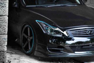 "20"" Infinti G35 Coupe Stance SC 5IVE Matte Black Concave Staggered Wheels Rims"