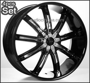 "26"" 5 or 6LUG Wheels Rims Escalade Chevy Ford Infiniti H3 Silverado Yukon Tahoe"