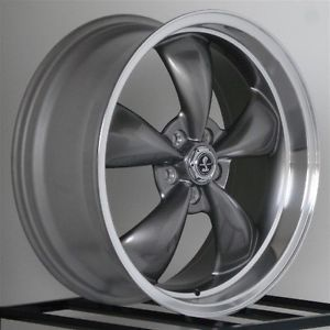 20 inch Gray Wheels Rims Dodge Charger SRT8 RT Magnum SRT Chrysler 300 Stagger