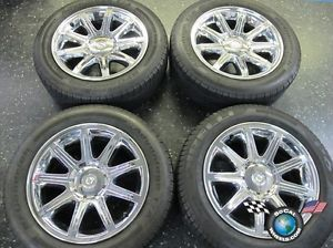 "05 06 Chrysler 300 300C Factory 18"" Chrome Clad Wheels Tires Rims 2244"