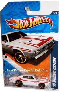 2011 Hot Wheels Street Beasts 84 '71 Dodge Demon White