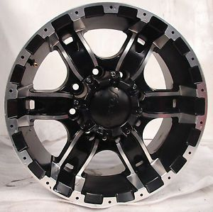 17 CHEVY SILVERADO SIERRA DODGE 2500 3500 FORZA WHEELS RIMS 8 LUG