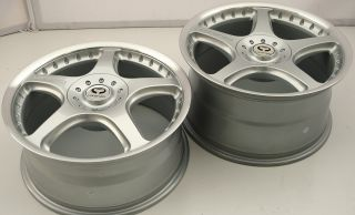 Lorenzo WL028 18 x 8 0 9 5 Silver Rims Wheels Jaguar XK 08 Up 5H 40