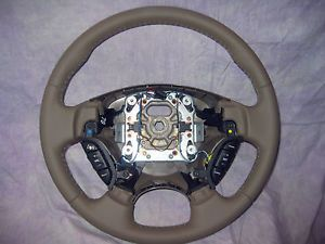 Jaguar Steering Wheel x Type 2002 2004 Bronze Sable New in Original Box
