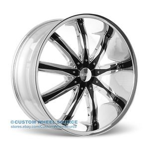 "20"" Dcenti DW29 Chrome Wheels Rims Infinity Jaguar Lexus"