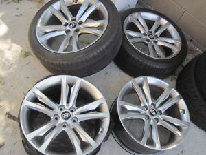 "19"" Hyundai Genesis Coupe R Spec Sonata Optima Wheels Rims"