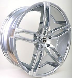 "20""Chrome Wheels Rims Lexus ES300 350 GS300 350 400 430 IS300 LS350 400 430 460"