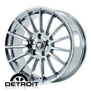 Jaguar s Type PVD Bright Chrome Wheels Factory Rim 59803 Outright Purchase
