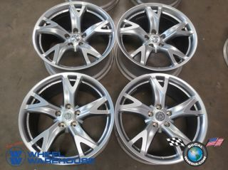 Four 09 12 Nissan 370Z Factory 19 Wheels Rims Forged 62525 62526