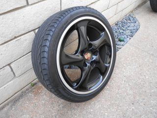 Porsche 996 Turbo Twist Wheels Including Tires