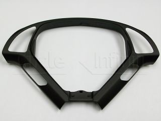 New Infiniti G35 G37 Sedan Black Steering Wheel Trim Bezel w Tech Pkg