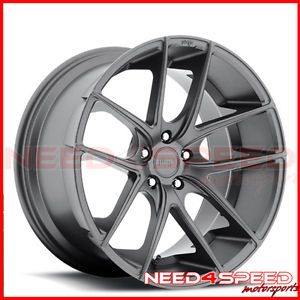 "18"" Niche Targa Grey Fits Scion FRS Concave Wheels Rims"