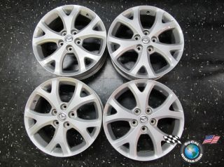Four 07 09 Mazda 3 Factory 17 Wheels Rims 5 6 Millenia Miata Silver 64895