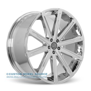 "20"" U2 23 Chrome Wheel Tire Package Rims Pontiac Lincoln Scion Toyota"