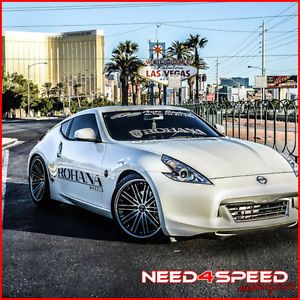 "New 20"" Nissan 350Z Rohana RC20 Machined Deep Concave Staggered Wheels Rims"