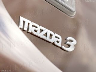 Chrome Mazda 3 Trunk Lid Emblem Badge Sticker Logo Decal Nameplate