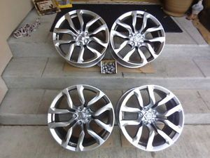 "Nissan 370Z 18"" 2010 2011 2012 2013 Factory Rims Wheels Set Staggered"