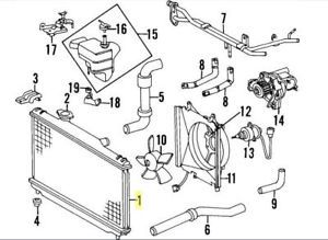 2000 2004 Subaru Legacy Outback Parts List Manual