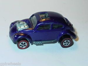 Hot Wheels Redline US Custom Volkswagen VW Bug Dark Purple Spectraflame N M